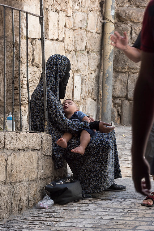 Jerusalem, Everyday life #90  By Jacob Elbaz