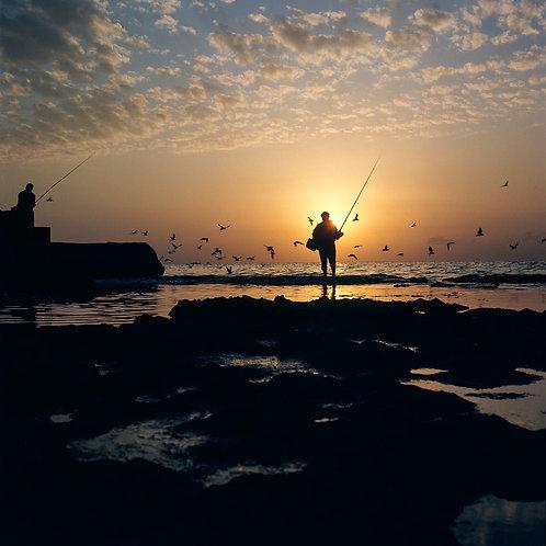 Israel, Sun set #2  By Jacob Elbaz