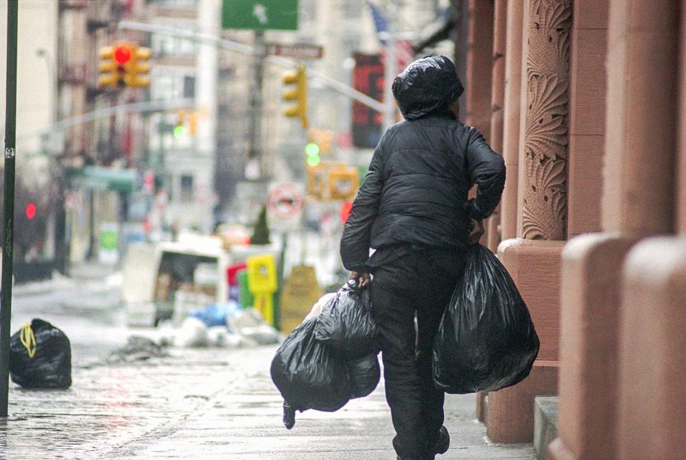 New York, Poverty #10  By Jacob Elbaz