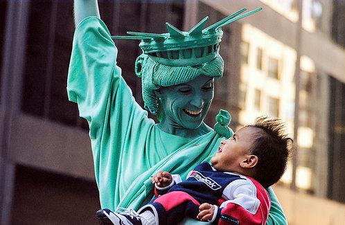 New York, Statue of Liberty #4  By Jacob Elbaz