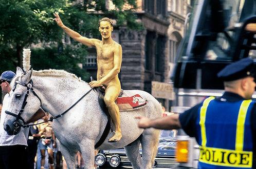 New York, Nude #1  By Jacob Elbaz