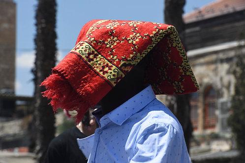 Jerusalem, Rug on his head  By Jacob Elbaz