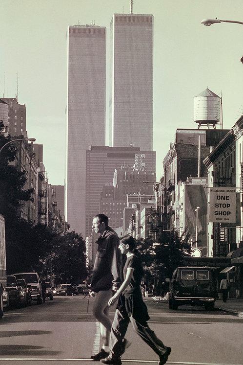 New York, Before 9 / 11 #1  By Jacob Elbaz