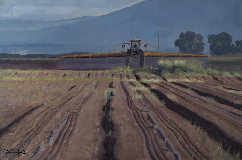 Crop duster #2 by  Ben Fried