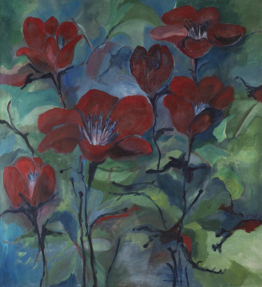 Poppies By Zmira Lapidot