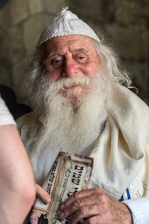 Jerusalem, Faces #1  By Jacob Elbaz