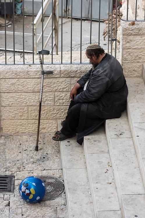 Jerusalem, Characters #13  By Jacob Elbaz
