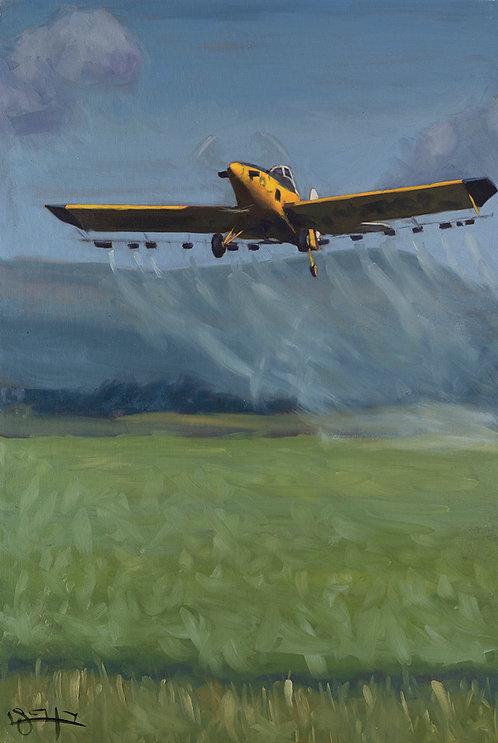 Crop duster #3 by  Ben Fried