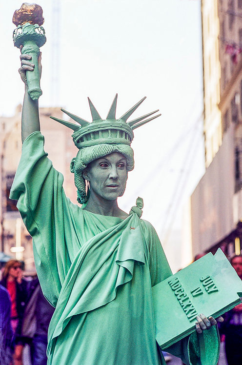 New York, Statue of Liberty #1  By Jacob Elbaz