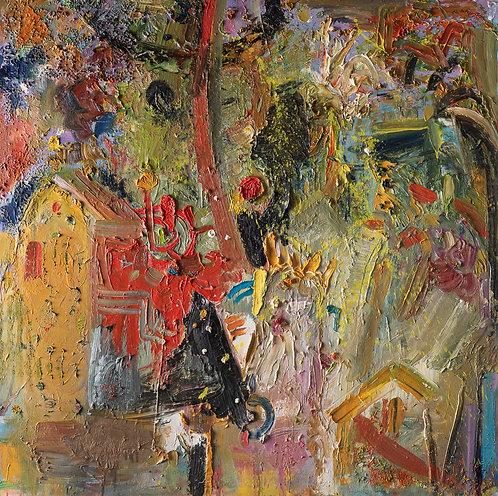 A man in the village By Miri Eitan Sadeh