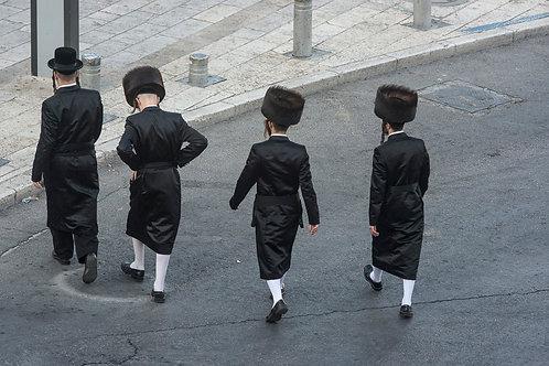 Jerusalem, Jewish Orthodox #15  By Jacob Elbaz