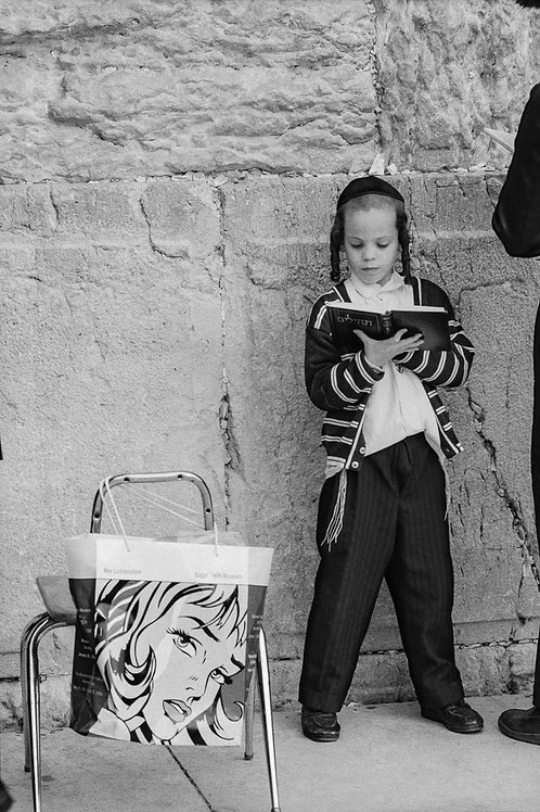 Jerusalem, Jewish Orthodox #2  By Jacob Elbaz