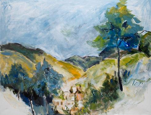 Ein Kerem, Jerusalem By Ruthy Segal