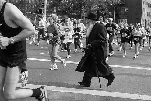 New York, Marathon #1  By Jacob Elbaz