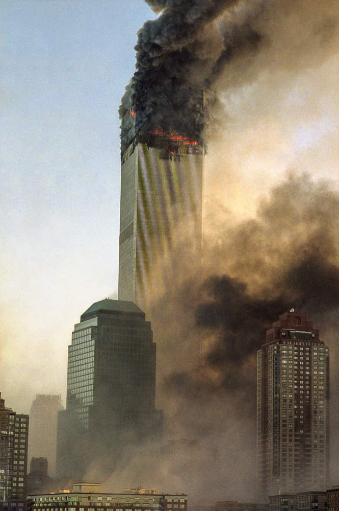 New York, 9 / 11,The Disaster #2  By Jacob Elbaz