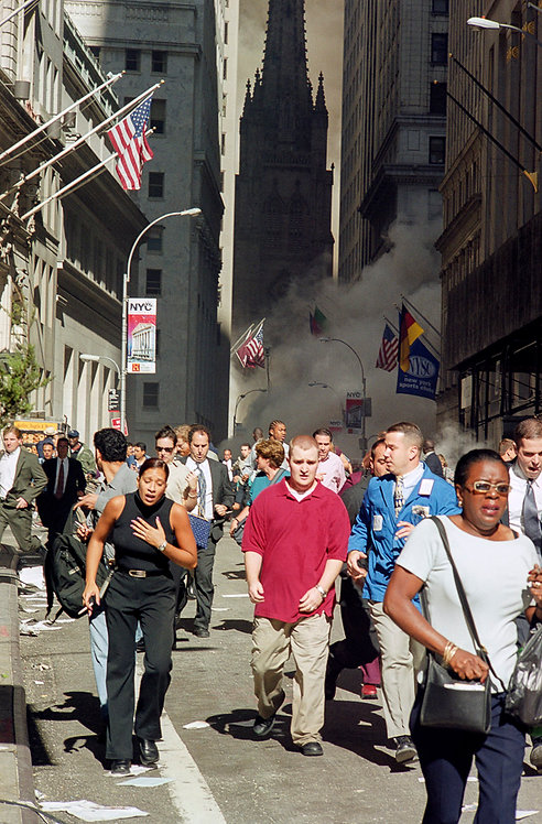New York, 9 / 11,The Disaster #1  By Jacob Elbaz