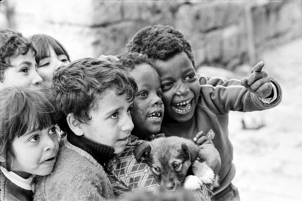 Israel, Children Looking Ahead  By Jacob Elbaz
