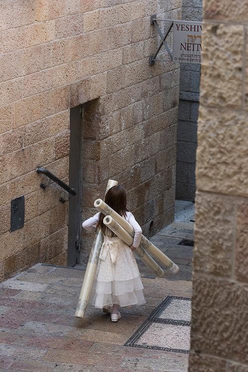Jerusalem, Characters #8  By Jacob Elbaz