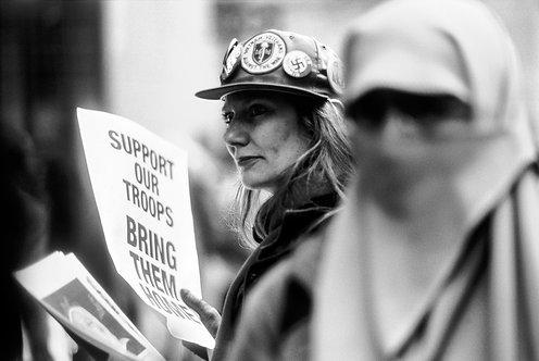 New York, Protest #10  By Jacob Elbaz