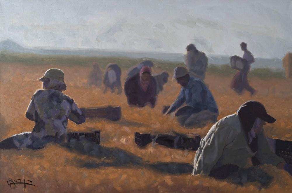 Field work #3 by  Ben Fried