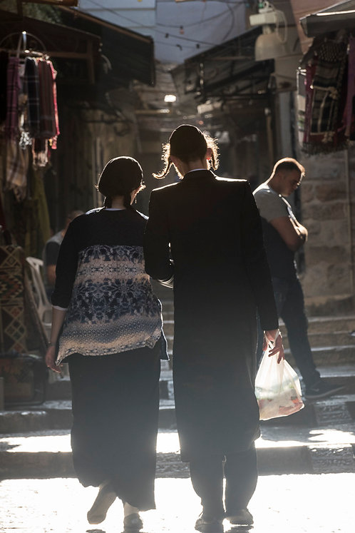 Jerusalem, Jewish Orthodox #7  By Jacob Elbaz