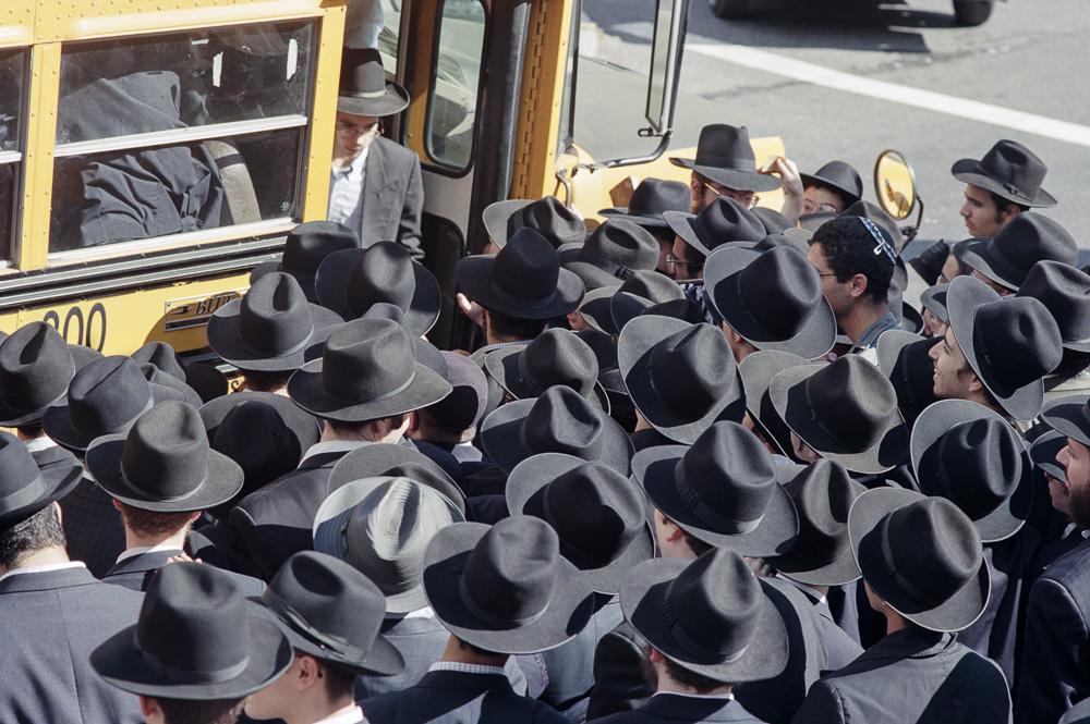 Orthodox Jews in Brooklyn
