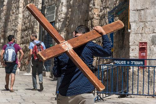 Jerusalem, Via Dolorosa #2  By Jacob Elbaz