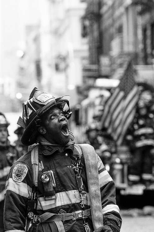 New York, 9 / 11,The Disaster #52  By Jacob Elbaz