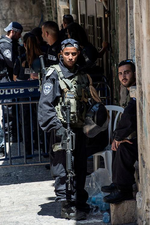 Jerusalem, Everyday life #124  By Jacob Elbaz