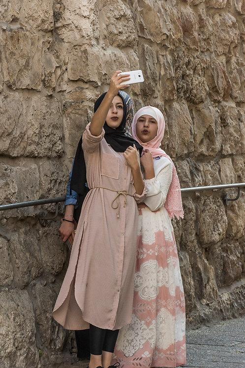 Jerusalem, Selfie #1  By Jacob Elbaz