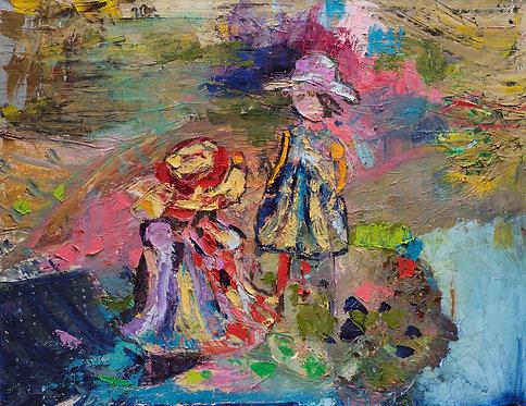 Nitza and Ditza By Miri Eitan Sadeh