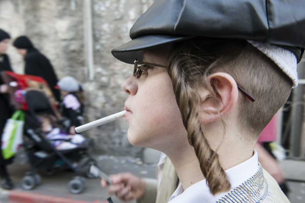 Jerusalem, First cigarette #2