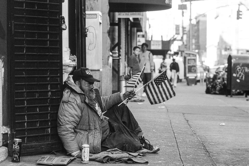 New York, Homeless #2  By Jacob Elbaz