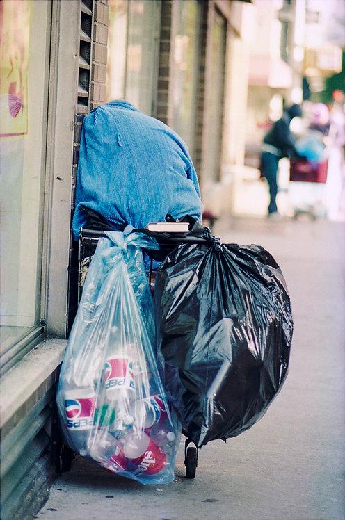 New York, Garbage #3  By Jacob Elbaz