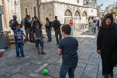 Jerusalem, Playing  By Jacob Elbaz