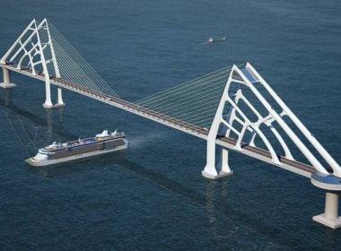 Chineses fazem única oferta por ponte Salvador-Itaparica e Rui já trata como vencedores