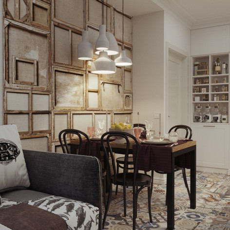 Дизайн интерьера квартиры в ЖК Династия