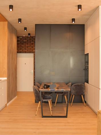 Дизайн кухні в лофт