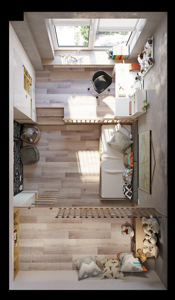 Дизайн детско комнаты