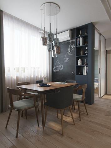 Дизайн інтер'єру вітальні