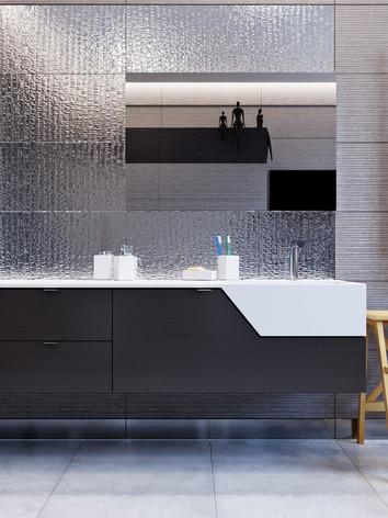 Дизайн интерьера ванной комнаты дома