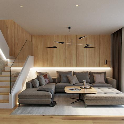 Современный интерьера дома