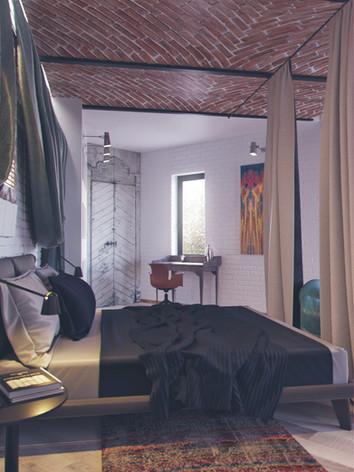 Дизайн интерьера спальни дома