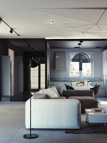 Дизайн интерьера гостиной дома