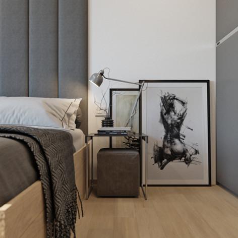Современный интерьер квартиры в ЖК Славутич