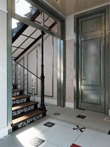 Дизайн интерьера прихожей дома