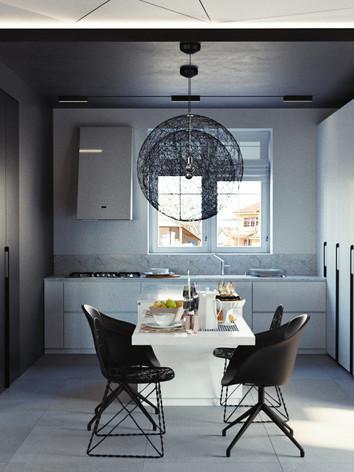 Дизайн интерьера кухни дома