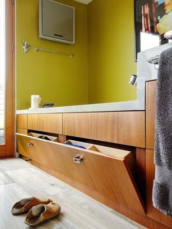 Дизайн и хранение в ванной