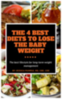 Front cover_The 4 best diets to lose the
