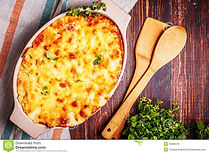 baked-macaroni-cheese-fresh-oregano-leav